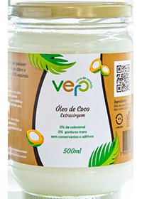 Óleo de Coco 500 ml